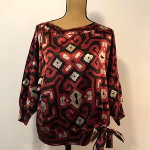 Rafael blouse polyester and spandex